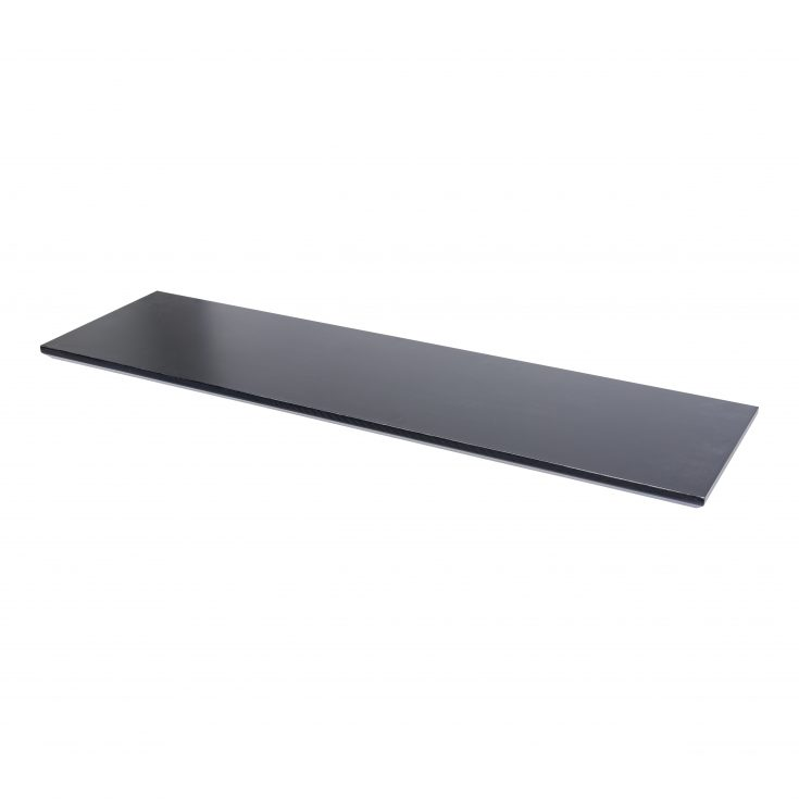 18mm Floating Shelf Lacquered Black 1